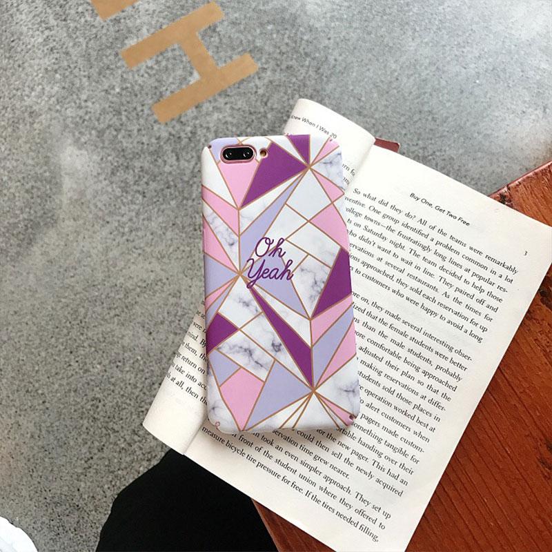 MA Fashion Funny Retro Pink Marble Style Hard TPU Phone Case Cover For Huawei P20 Lite Pro Honor 8X 9 10 NOVA3i 4
