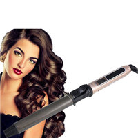 USHOW Hot LCD Professional Ceramic Curling Iron Digital Hair Curlers Styler Heating Hair Styling Tools Magic Curling Wand Irons 2