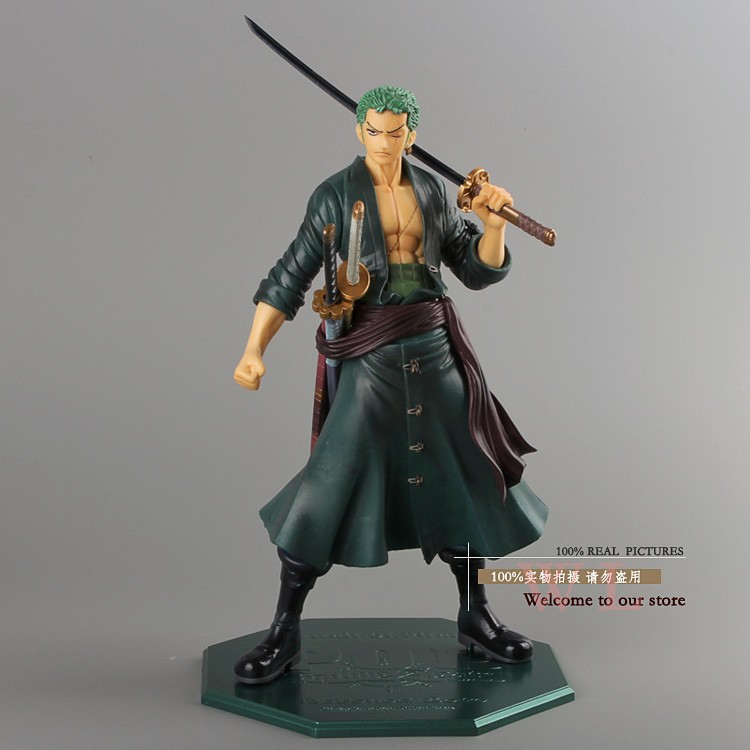 anime figur One Piece After 2 Years P.O.P POP Roronoa Zoro PVC Action Figure Collection Model Toy s Free Shipping Cool e 9.5