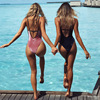 Sexy One Piece Swimsuit 2017 New Summer Swimming Backless Monokini Swimsuit Swimwear Women Bathing Suit Swim