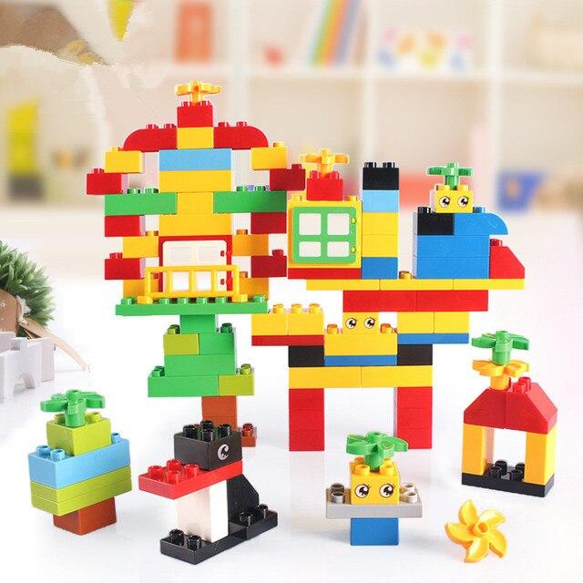Классический Большой Строительные Блоки Части Ребенок Первый Блок Развивающие Игрушки
