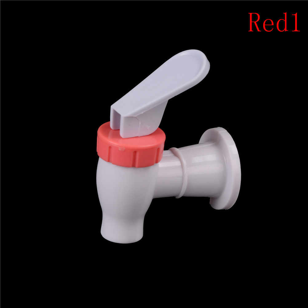 Plastic Replacement Push Type Mineral Water Dispenser Spigot Valve Faucet Tap Water Faucet Kitchen Household Bar Home Drink Tool