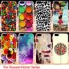 Phone Cases For Huawei GR5 Honor4X Honor 4X Play 5X 7I shot x Honor7I Mate 7 Mini KIW-TL00 Covers Housing Sky Door Rose Skin Bag