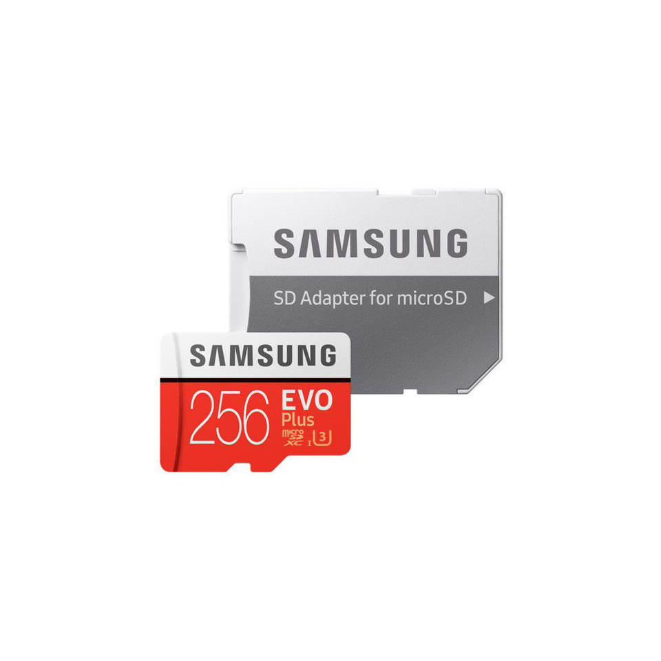 Купить со скидкой Флеш карта SAMSUNG MB-MC256GA/RU microSD 256Gb Class10 MB-MC256GA/RU EVO PLUS 2 + adapter