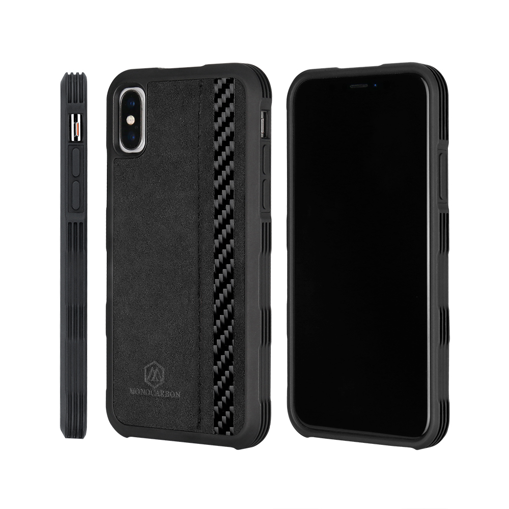 2018 Newest Anti Shock Case for iPhone X Alcantara + Real Carbon Fiber Luxury Premium Cover2018 Newest Anti Shock Case for iPhone X Alcantara + Real Carbon Fiber Luxury Premium Cover