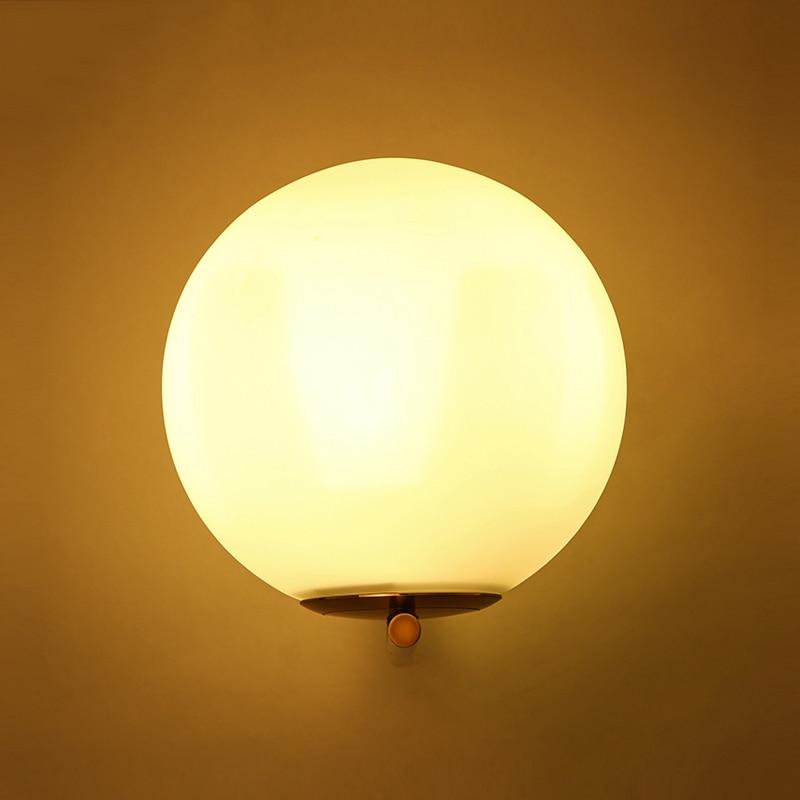 Lights & Lighting Modern Wall Lamp Glass Sconce Luminaire Ball Light Luminaria Abajur For Bathroom Bedroom Light E27 Base Home Lighting Lamparas