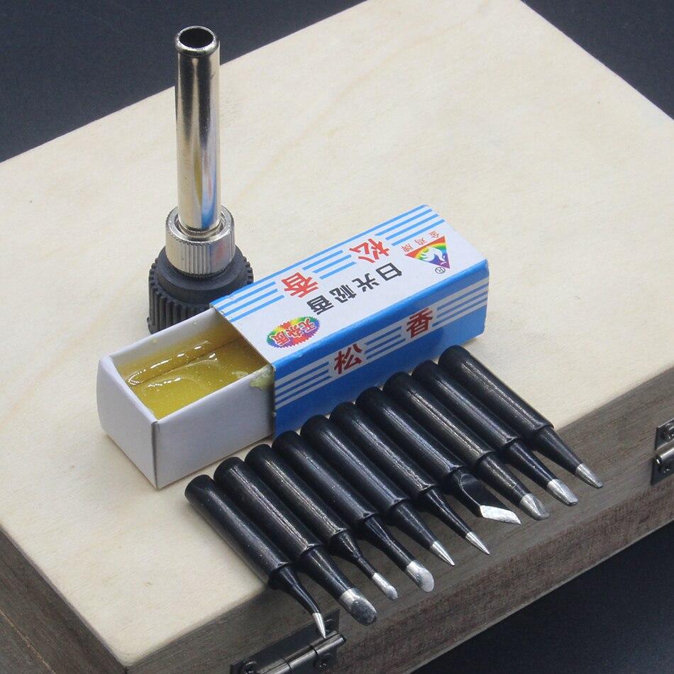 10Pcs//lot 900M-T-3.2D Soldering Tip Lead-free Welding Sting Soldering Iron Tip