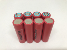 цена на 100pcs/lot Original Sanyo 18650 rechargeable battery 3.7V 2600mAh Li-ion Camera Flashlight Torch Battery EMS DHL Free Shipping