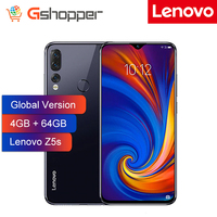 Global Version Lenovo Smart Phone Z5S 4GB 64GB Octa core Snapdragon 710 AI Triple Rear Cameras ZUI 10.0 4G FDD LTE Android P