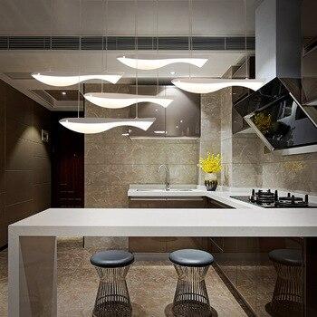 Moderne Fisch Wohnzimmer LED Kronleuchter Esszimmer Anhänger Lampe Schöne Kinderzimmer Hanglamp Nordic Leuchte Fernbedienung
