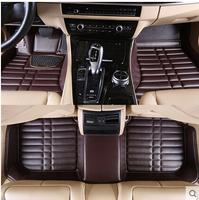 Best Quality Custom Special Floor Mats For Volkswagen Touareg 2014 Waterproof Carpet For Touareg 2015 2011