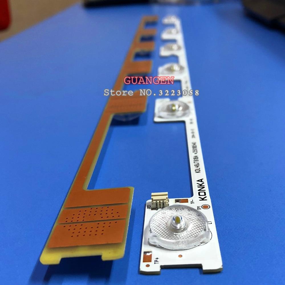 100 Pieces lot original new LED backlight bar strip for KONKA KDL48JT618A 35018539 6 LEDS 6V