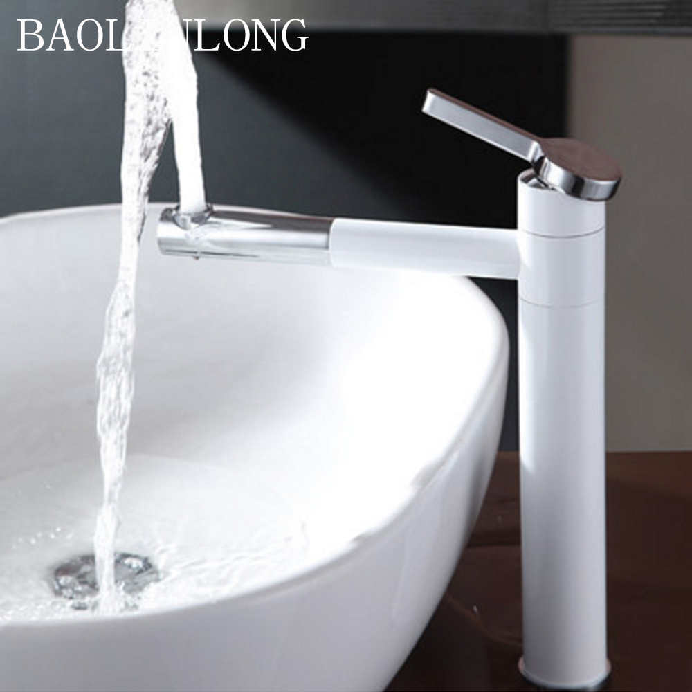 BAOLINLONG Styling Brass Deck Mount Bathroom Basin Faucet Vanity Vessel Sinks Mixer Tap FaucetsBAOLINLONG Styling Brass Deck Mount Bathroom Basin Faucet Vanity Vessel Sinks Mixer Tap Faucets