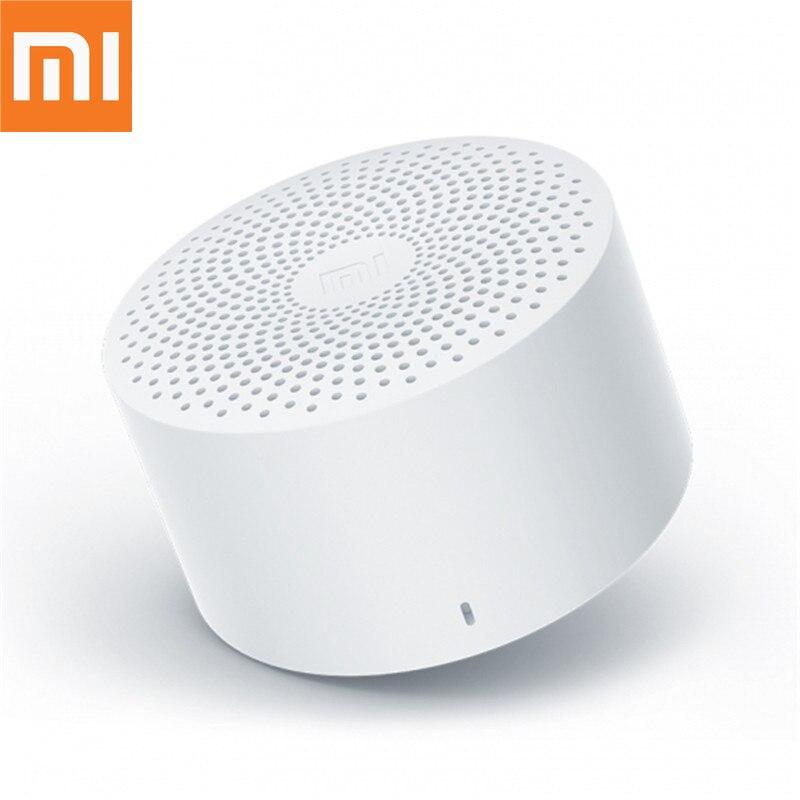 Original Xiaomi Mijia Bluetooth Speaker Controle AI Baixo Estéreo Portátil Sem Fio Mini Speaker Bluetooth Com Mic HD Qualidade de Chamada