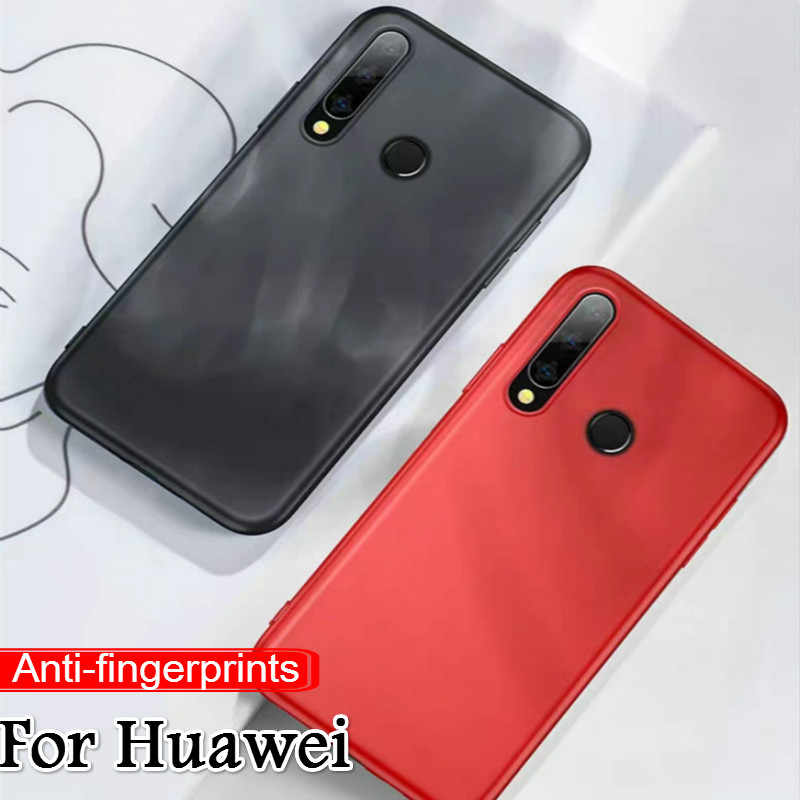 For Huawei P Smart 2019 P20 P30 Pro Mate20 Lite Nova5 Hard Plastic Matte Case For Honor 20 Pro 20i 10i 8X 8C 8S Smooth Case Capa
