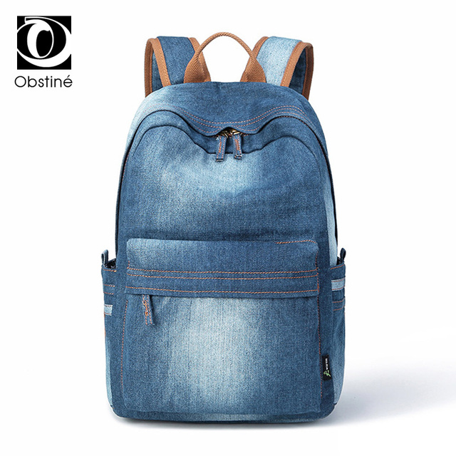bc8563c8cc56 Большие сумки ноутбук рюкзак для девочек большой путешествия джинсовая  рюкзаки женские пакет сумка для ноутбука дизайнер