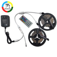 Coversage RGB 5050 10M 600Leds Led Strip IP65 Waterproof Light Ceiling DC12V 6A With Remote Controller Home Decoration Lamp