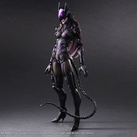 Catwoman Action Figure Playarts Kai Collection Model Anime Toy Movie Bat Man Play Arts Kai Catwoman 260mm