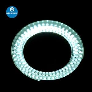 Image 5 - PHONEFIX 100 ボルト 240 ボルト 144LED 耐久性のあるリングライト顕微鏡ステレオ顕微鏡カメラ拡大鏡ライト携帯電話の修理の
