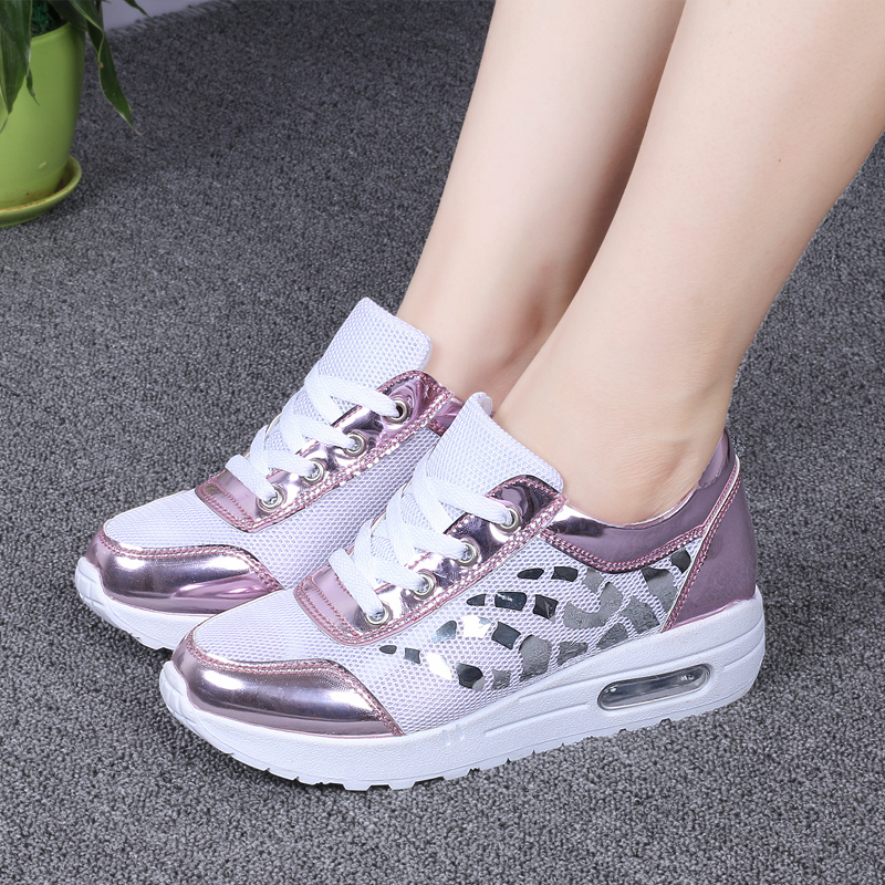 Trainers Women Casual Shoes Summer Style Outdoor Breathable Low Top Shoes Woman Flat Heels Sport Ladies Shoes Size 35-40 ZD71 (15)