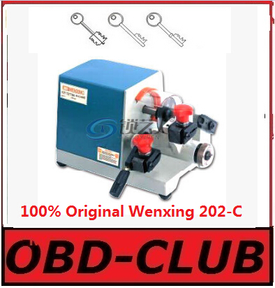 100 Original Wenxing 202 C single head key cutting machine For right angle gear flag shaped