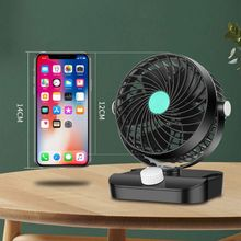 12V/24V 360 Degree All-Round Adjustable Car Auto Air Cooling Single Head Fan Low Noise Accessory