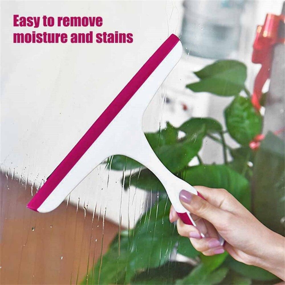 Universal Scraping Clean Window Glass Blowing Cleaner Wiper Bathroom ...
