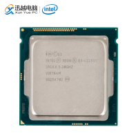 Intel Core E3 1225 V3 Desktop Processor E3 1225 V3 Quad Core 3.2GHz 8MB L3 Cache LGA 1150 Server Used CPU