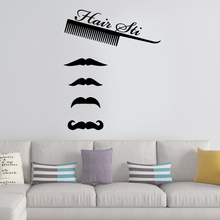 Drop Shipping Hair Cut Wall Art Decal Wall Stickers Pvc Material Nursery Kids Room Wall Decor removable mural drop shipping cabaret wall art decal wall stickers pvc material for kids room living room home decor removable decor wall decals