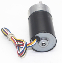 JGB37-3650 DC Brushless Geared Motor, Automatic Curtain Deceleration Large Torque CW/CCW, All Metal Gear Motor
