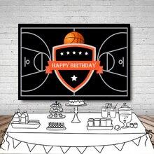 Photography backdrop Black basketball court theme children Birthday celebration background for photo studio camera fotografica colorful butterfly photography backdrops baby vinyl backdrop for photography camera fotografica background for photo studio