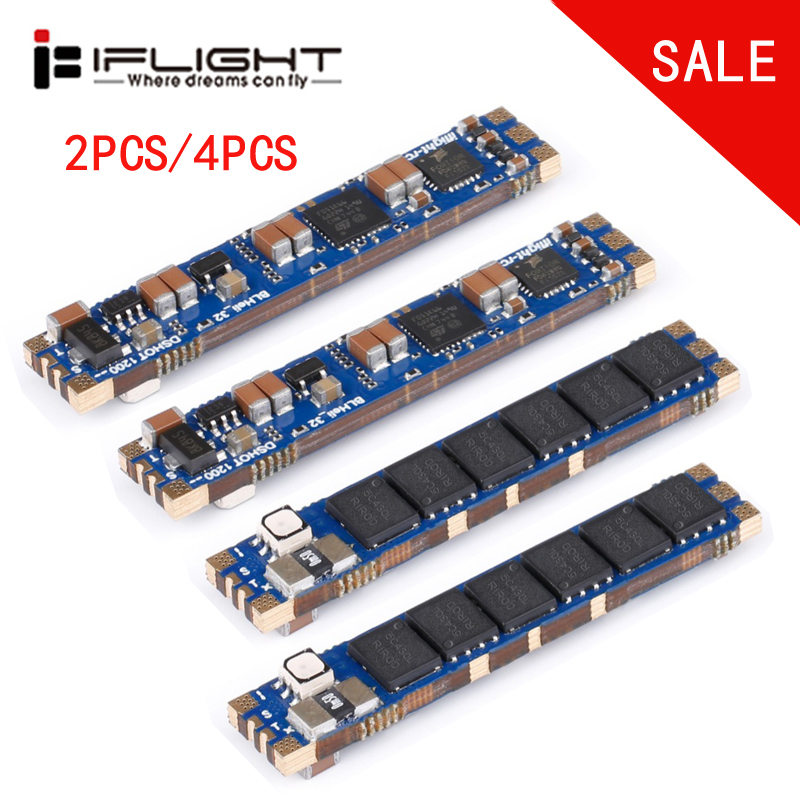 iFlight SucceX 50A Slick 2 6S 32bit BLHeli Dshot1200 Single ESC built in LED telemetry current
