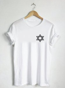 Star of David-Tshirt Shirt menorah Jewish Shield Hanukkah Judaism Israel Winter Holiday Womens Mens Hat Gift Shape God F801(China)
