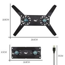 USB Fan Cooling Pad