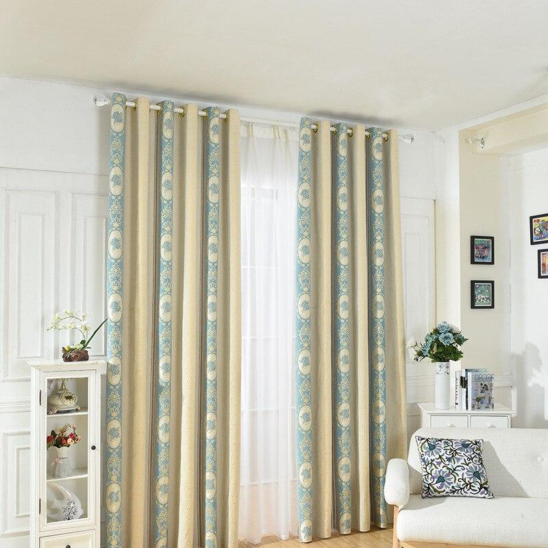 Chenille Jacquard rideau de fenêtre salon balcon Chambre tissu Rideaux occultants pour Cortinas Rideaux Chambre Voilage