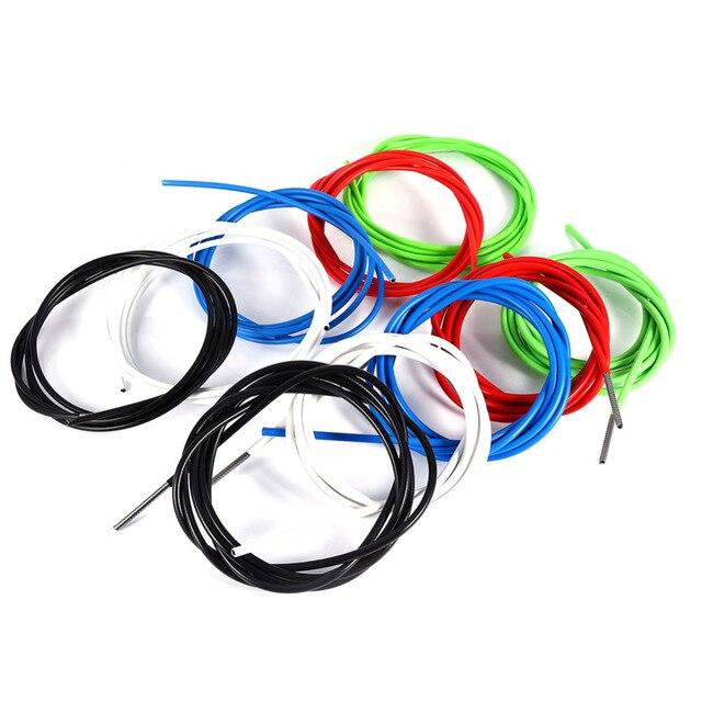 2 M 4 MM 5 MM Cable de bicicleta Cable de cambio equipo de carcasa de bicicleta de montaña Cambio de Cable de bicicleta ciclismo herramientas