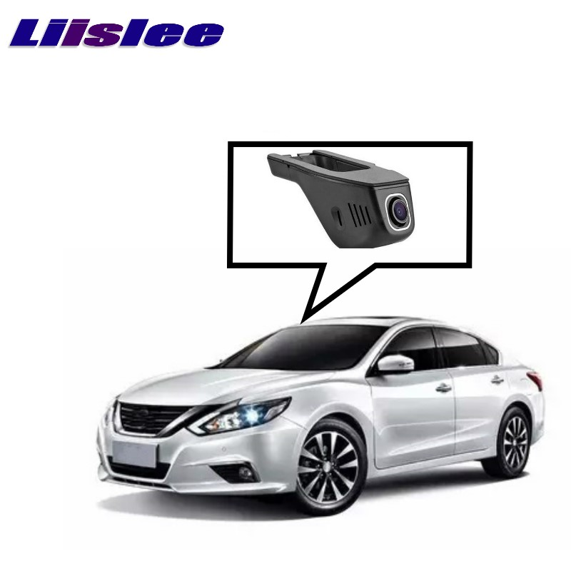 Liislee Wifi DVR Record Driving Dash-Camera Car-Road NISSAN Teana L33 1