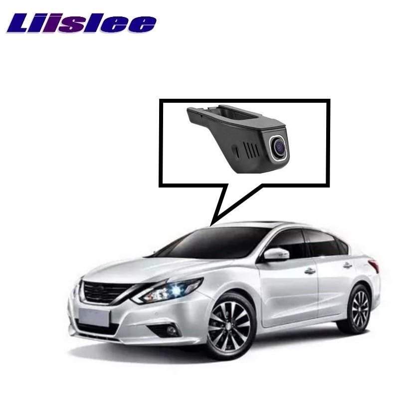 LiisLee Car Black Box WiFi DVR Dash Camera Driving Video Recorder For NISSAN Teana L33 2013~2017 for infiniti fx45 fx35 2007 car driving video recorder dvr mini control app wifi camera black box registrator dash cam