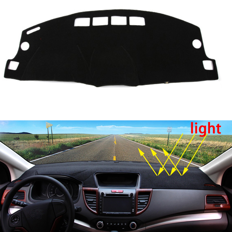 Car dashboard Avoid light pad Instrument platform desk cover Mats Carpets Auto accessories car styling for jeep patriot Cherokee for toyota crown 2004 2016 double layer silica gel car dashboard pad instrument platform desk avoid light mats cover sticker