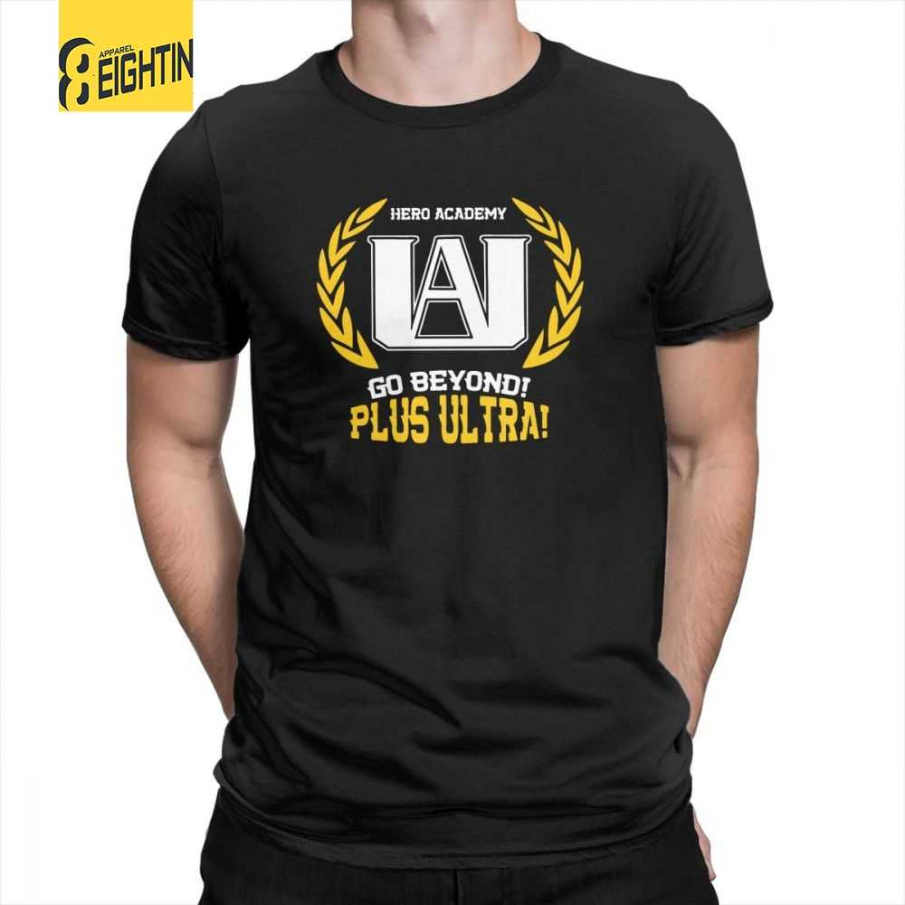 a90714a88 UA Academy My Hero Academia T-Shirts Male Cute T Shirts Purified Cotton Tee  Shirts