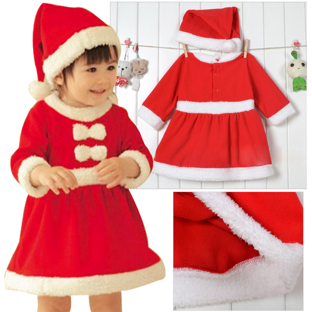 2014 kids baby romper toddlers girls boys christmas dresses winter cotton cute children clothes age 6 24 m in dresses from mother kids on aliexpresscom
