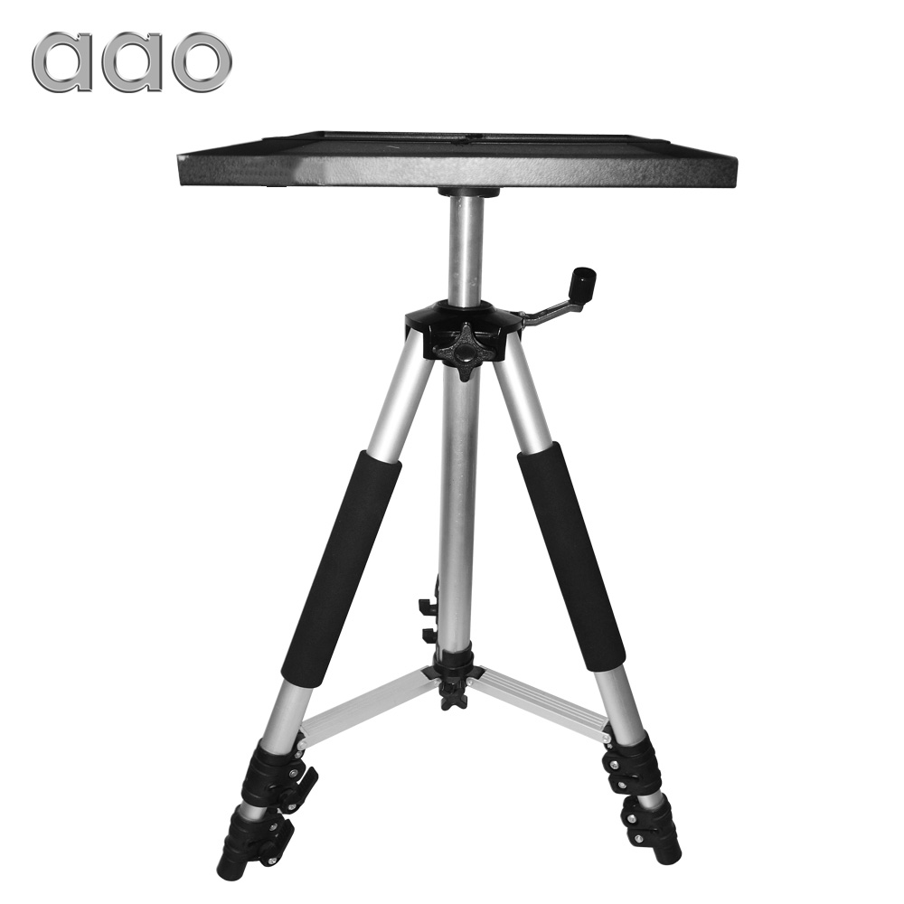 все цены на AAO 50 to 150cm Projector Tripod Mount Bracket Holder Stand HD Projector Camera Flexible Aluminium Table Tripod Stand with Tray онлайн