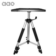 AAO 50 to 150cm Projector Tripod Mount Bracket Holder Stand HD Projector Camera Flexible Aluminium Table Tripod Stand with Tray