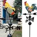 Металлическая Погодная лопасть  украшение «петух»  петух  декор для сада  патио  LBShipping