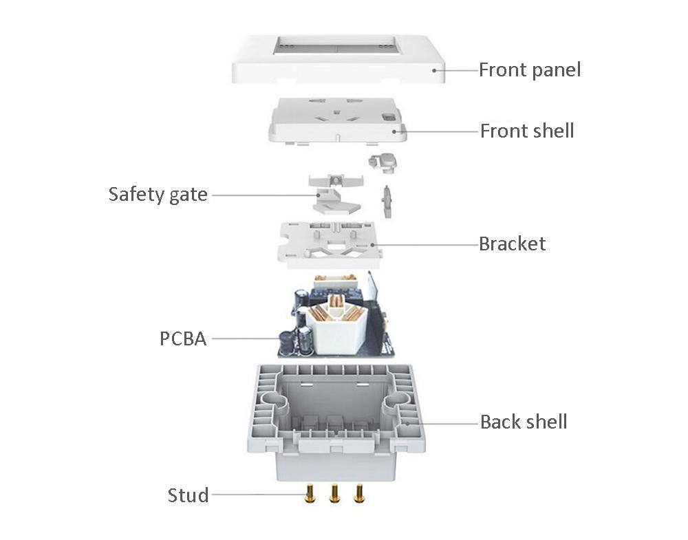 HOT SALE] Original Xiaomi Aqara Smart Wall Socket Wall