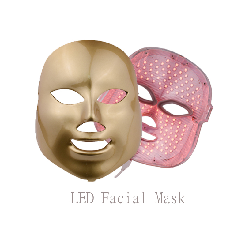 Electric LED Mask 7 Colors Light PDT Photon Face Skin Care Skin Rejuvenation Anti Acne Wrinkle Removal Therapy Beauty Salon portable home use led photon blue green yellow red light therapy beauty device for face and body skin rejuvenation firming