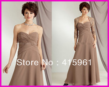 2013 Brown Plus Size Chiffon Mother of the Groom/Bride Dresses With Lace Jacket M776 debra brown lee the mackintosh bride