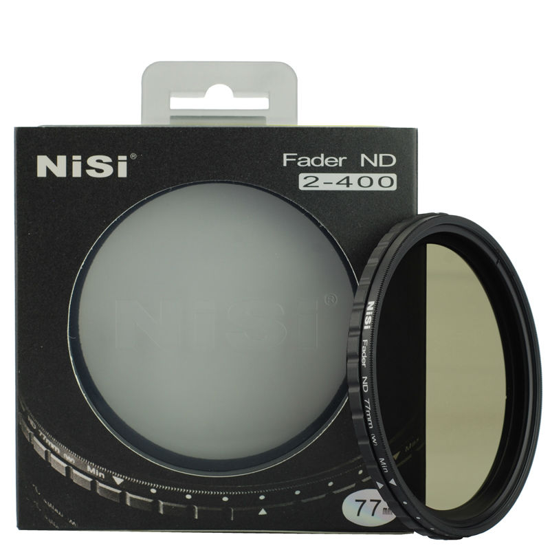 NIIS 77mm fader Variable Neutral Density ND ND2-ND400 filter Adjustable as Nicna for Canon 24-70/24-105/17-40 lens pa019 fotga ultra thin fader variable neutral density nd2 nd400 filter 77mm