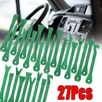 27Pcs Car Stereo Radio Audio Trim Removal Pry Panel Door Dash Install Tools Kit 7inch For all Models Plastic Hand Tool Sets