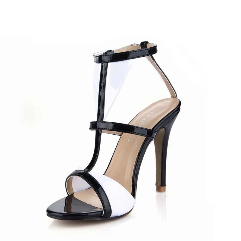 Schuhe Schnalle Heels Zapatos Frauen Valentine Black Alias Mujer Femme Sandale Sandalen Sommer Sapato High Damen Frau Feminino 4Ox4rB